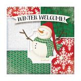 Winter Welcome Snowman