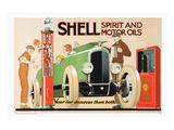 Shell Spirit and Motor Oils