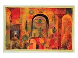 with the Eagle 1918 Reproduction d'art par Paul Klee