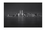Manhattan  World Financial Center  Dusk - Lower Manhattan at Night