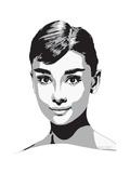 Audrey Giclée par Emily Gray