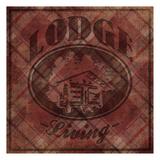 Lodge Life Reproduction d'art par Jace Grey