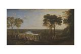 England: Richmond Hill  on the Prince Regent's Birthday
