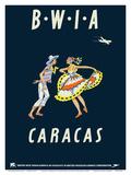 Caracas  Venezuela - British West Indies Airways BWIA