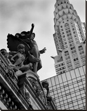 Mercury Statue and Chrysler Building