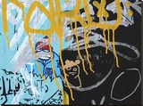 Yellow Aqua Graffiti 2