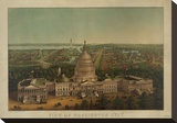 View of Washington City  c 1869
