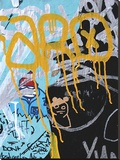 Yellow Aqua Graffiti 1