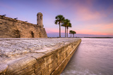 St Augustine  Florida at the Castillo De San Marcos National Monument