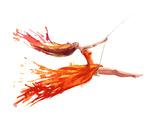 Swing Reproduction d'art par Okalinichenko