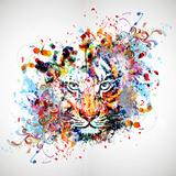 Tigre Reproduction d'art par Reznik_val