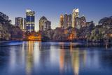 Atlanta  Georgia  USA Midtown Skyline from Piedmont Park