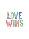 Love Wins Watercolor