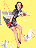 Blind Date Pin-Up 1940s