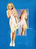 Double Exposure Pin-Up 1940