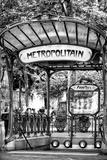 Paris Focus - Abbesses Metro Papier Photo par Philippe Hugonnard