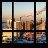 View from the Window - Midtown Manhattan at Sunset