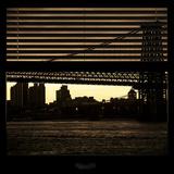 View from the Window - Williamsburg Bridge - New York