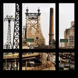View from the Window - Queensboro Bridge Traffic