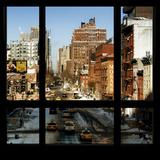 View from the Window - Manhattan Winter