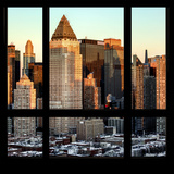 View from the Window - Hell's Kitchen at Sunset - Manhattan