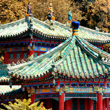 China 10MKm2 Collection - Detail of Summer Palace in Autumn