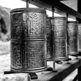 China 10MKm2 Collection - Prayer Wheels