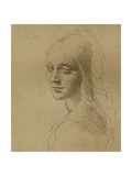 A Female Head  C1472-C1519 (1883)