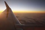 Sunset at 35 000 Feet Above La Palma  Canary Islands  Spain  2009