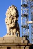 South Bank Lion  London