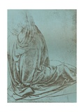 Preparatory Study of Drapery for the Angel in the Virgin of the Rocks  1472-C1519
