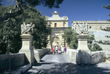 Main Gate  Mdina  Malta Erected in 1724 by Grand Master De Vilhena