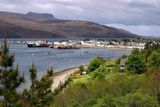 View of Ullapool Harbour  Highland  Scotland