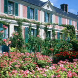 Claude Monets House  Giverny  Normandy  France