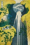 The Waterfall of Amida Behind the Kiso Road, C1832. (1925) Giclée par Katsushika Hokusai