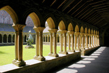 Cloisters of Iona Abbey  Argyll and Bute  Scotland