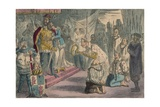 Queen Philippa Interceding with Edward III for the Six Burgesses of Calais  1850