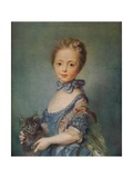 A Girl with Kitten  C1743