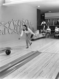 Silver Blades Bowling Alley  Sheffield  South Yorkshire  1965