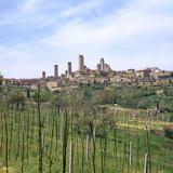 The Town of San Gimignano  13th Century