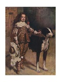 Court Dwarf Don Antonio El Ingles  (1640-1645)  1903