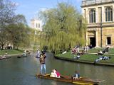 Punting  Cambridge  Cambridgeshire