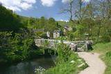 Milldale  Dovedale  Derbyshire