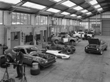 Modified Fords During Race Preparation  Littleborough  Greater Manchester  1972
