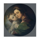 Mrs West and Child  1770