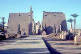 Temple Sacred to Amun Mut and Khons (Khonsu)  Luxor  Egypt