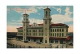 Havana Central Railway Station  Cuba  C1912