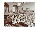 Writing Lesson  Hugh Myddelton School  Finsbury  London  1906