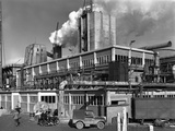 Manvers Coal Processing Plant  Wath Upon Dearne  Near Rotherham  South Yorkshire  January 1957