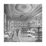Dining Room of the Garrick Club  1897
